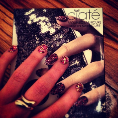 Ciaté Sequined Mani Kit